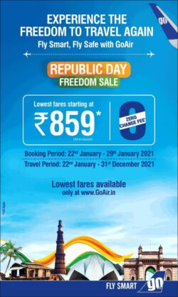 fly-smart-go-republic-day-freedom-sale-lowest-fares-starting-at-rupees-859-ad-times-of-india-bangalore-22-01-2021