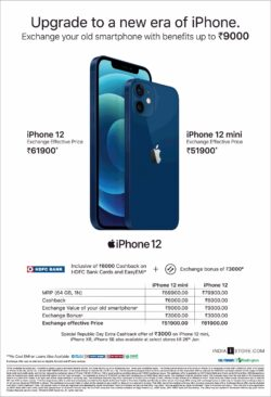 iphone-12-and-iphone-12-mini-exchange-your-old-smartphone-with-benefits-up-to-rupees-9000-ad-times-of-india-mumbai-17-01-2021
