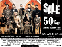 mohanlal-sons-sale-upto-50%-off-on-entire-collection-ad-delhi-times-09-01-2021