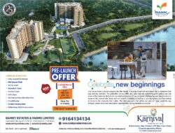 ramky-estates-and-farms-limited-pre-launch-offer-celebrate-new-beginnings-ad-property-times-bangalore-08-01-2021