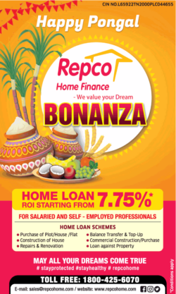 repco-home-finance-home-loan-roi-starting-from-7.75%-happy-pongal-ad-times-of-india-chennai-14-01-2021
