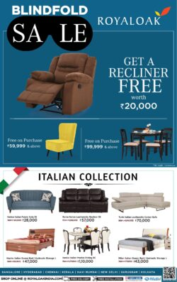 royaloak-blind-fold-sale-get-a-recliner-free-worth-rupees-20000-ad-bangalore-times-13-01-2021