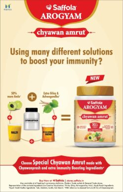 saffola-arogyam-chyawan-amrut-using-many-different-solutions-to-boost-your-immunity-ad-times-of-india-delhi-07-01-2021