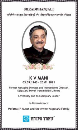 shraddhanjali-k-v-mani-director-kalpa-taru-ad-times-of-india-mumbai-28-01-2021