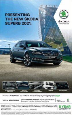skoda-presenting-the-new-skoda-superb-2021-ad-times-of-india-mumbai-21-01-2021