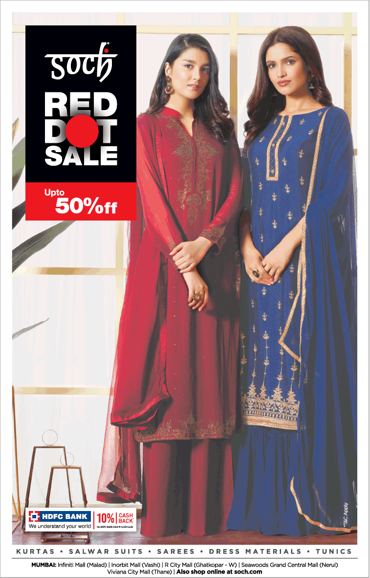 soch-red-dot-sale-upto-50%-off-ad-bombay-times-08-01-2021
