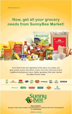 sunny-bee-now-get-all-your-grocery-needs-from-sunnybee-market-ad-chennai-times-09-01-2021