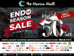 the-marina-mall-end-of-season-sale-flat-50%-off-only-3 days-ad-chennai-times-08-01-2021