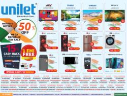 unilet-electronics-upto-15%-cash-back-1-emi-free-ad-bangalore-times-23-01-2021