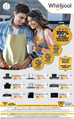 whirlpool-get-up-to-100%-instant-cash-benefit-on-offer-prices-ad-times-of-india-bangalore-24-01-2021