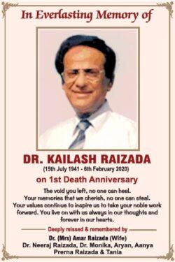1st-death-anniversary-dr-kailash-raizada-ad-times-of-india-delhi-06-02-2021