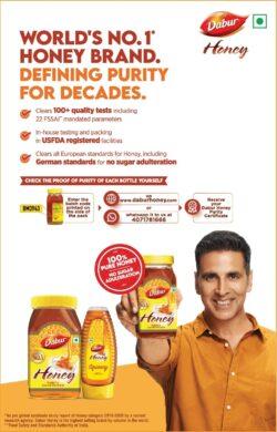 dabur-honey-by-akshay-kumar-ad-times-of-india-bangalore-10-02-2021
