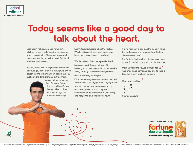 fortune-rice-bran-health-by-saurabh-ganguly-ad-times-of-india-mumbai-14-02-2021