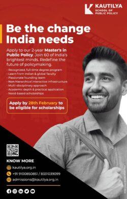 kautilya-school-of-public-policy-ad-times-of-india-mumbai-18-02-2021