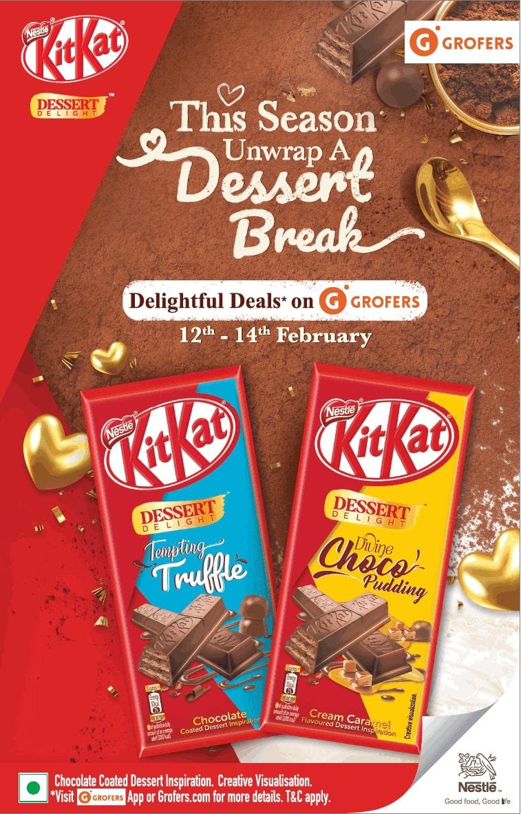 kitkat-grofers-delightful-deals-on-grofers-ad-times-of-india-delhi-12-02-2021