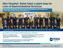 max-health-care-max-hospitals-saket-gaint-leap-for-liver-and-gastrointestinal-sciences-ad-times-of-india-delhi-10-02-2021