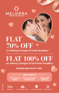 melorra-flat-70%-off-on-making-charges-of-gold-jewellery-ad-delhi-times-14-02-2021