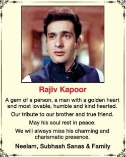remembrance-rajiv-kapoor-ad-times-of-india-mumbai-11-02-2021