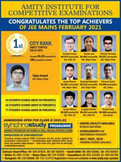 amity-institute-for-competitive-examinations-ad-times-of-india-delhi-14-03-2021