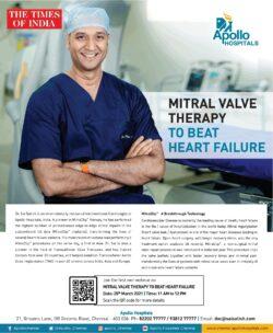 apollo-hosiptals-mitral-value-therapy-to-beat-heart-failure-ad-times-of-india-delhi-25-03-2021