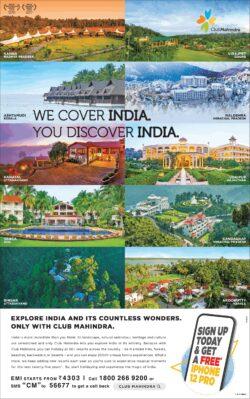club-mahindra-we-cover-india-you-discover-india-ad-times-of-india-mumbai-14-03-2021