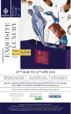 dlf-emporio-the-chanakya-luxury-shopping-festival-ad-delhi-times-25-03-2021