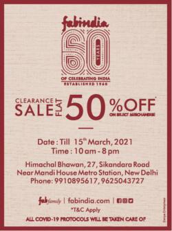 fabindia-clearance-sale-flat-50%-off-ad-delhi-times-06-03-2021