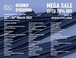 fdci-designer-stockroom-mega-sale-upto-70%-off-ad-delhi-times-21-03-2021