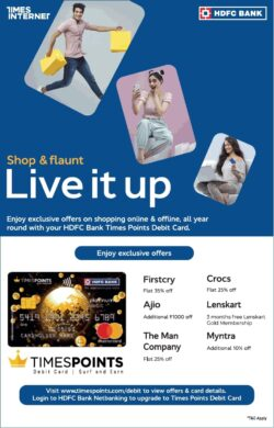 hdfc-bank-shop-and-flaunt-live-it-up-ad-delhi-times-20-03-2021