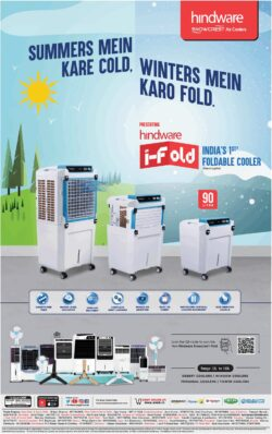 hindware-summers-mein-kare-cold-winters-mein-karo-fold-ad-times-of-india-delhi-26-03-2021