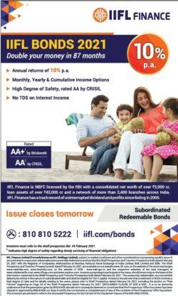 iifl-finance-iifl-bonds-2021-double-your-money-in-87-months-ad-times-of-india-mumbai-17-03-2021