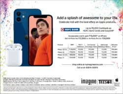 iphone-hdfc- bank-offer-up-to-rupees-6000-cashback-ad-delhi-times-21-03-2021