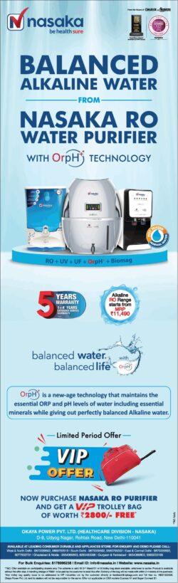 nasaka-balanced-alkaline-water-from-nasaka-ro-water-purifier-ad-delhi-times-20-03-2021