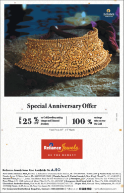 reliance-jewels-special-anniversary-offer-upto-25%-off-ad-delhi-times-10-03-2021