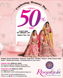 roopkala-celebrating-womens-day-up-to-50%-off-ad-bombay-times-06-03-2021