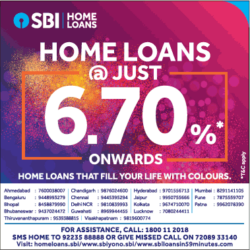 state-bank-of-india-home-loans-at-just-6-70%-onwards-ad-times-of-india-delhi-23-03-2021