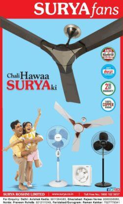 surya-fans-chali-hawaa-surya-ki-ad-times-of-india-delhi-14-03-2021