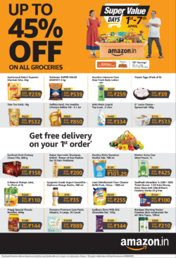 amazon-in-up-to-45%-off-on-all-groceries-ad-times-of-india-delhi-04-04-2021