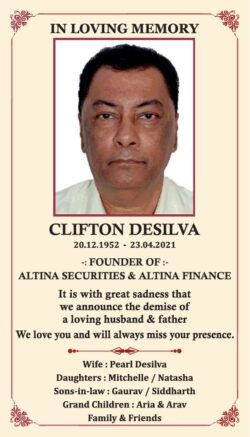 in-loving-memory-clifton-desilva-ad-times-of-india-mumbai-27-04-2021