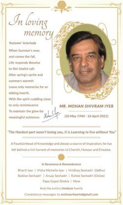 in-loving-memory-mr-mohan-shivram-iyer-ad-times-of-india-mumbai-23-04-2021