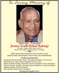 in-loving-memory-of-justice-avadh-bchari-rohatgi-ad-times-of-india-delhi-27-04-2021