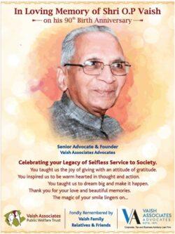 in-loving-memory-of-shri-o-p-vaish-senior-advocate-and-founder-vaish-associates-advocates-ad-times-of-india-delhi-29-04-2021