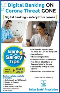 indias-bank-association-digital-banking-on-corona-threat-gone-ad-times-of-india-mumbai-25-04-2021
