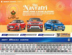 maruti-suzuki-this-navratri-bring-home-swift-vitara-breeza-dzire-ad-delhi-times-11-04-2021