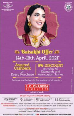 p-c-chandra-jewellers-baisakshi-offer-ad-delhi-times-16-04-2021