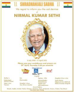 shradhanjali-sabha-nirmal-kumar-sethi-ad-times-of-india-delhi-29-04-2021