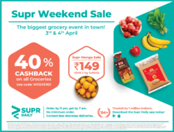 supr-daily-40%-cash-back-on-all-groceries-ad-delhi-times-04-04-2021