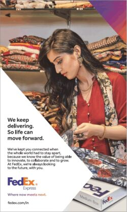 fedex-express-we-keep-delivering-so-life-can-move-forward-ad-times-of-india-mumbai-26-05-2021