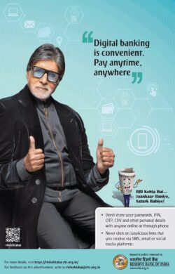 reserve-bank-of-india-by-amitabh-bhachan-digital-banking-is-convenient-pay-anytime-anywhere-ad-times-of-india-mumbai-01-05-2021