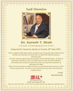 sad-demise-dr-suresh-t-shah-suresh-indu-lasers-pvt-ltd-ad-times-of-india-delhi-18-05-2021